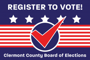register to vote graphic - links to are you registered to vote page