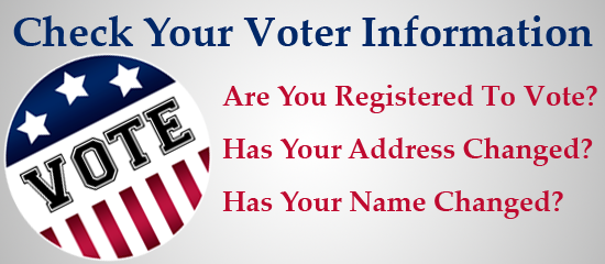 Image result for are you registered to vote
